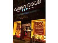 Twickenham Casino Games Centre Requires Full and Part Time Staff