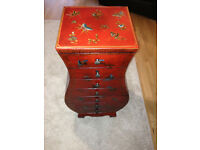 7 Drawer chinese style unit