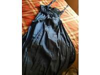 Dark blue new prom dress (Free) size 8 - 10