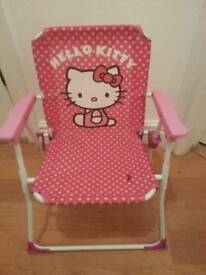 Childs Hello Kitty deckchair