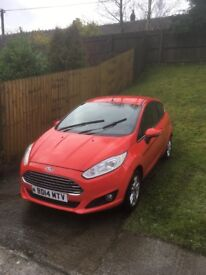 Ford Fiesta 14 , 35,000 miles