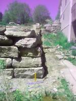 Retaining Wall Rebuild/Trim - Cash Paid Same Day