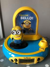 Minions digital radio alarm clock
