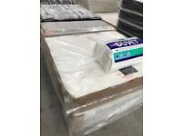 BZAMS Brand New 3ft,4ft6 Double 5ft King Crushed Velvet Mattress 11 Inches Extra Padding Both Sides