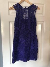 Lipstick purple size 12 dress