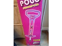 Ozbozz pogo stick. Brand new and never been used. Boxed