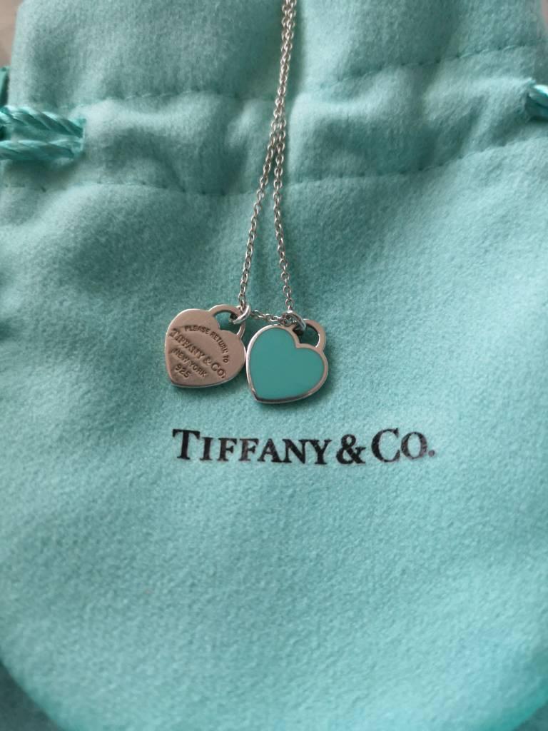 712fdc73d RETURN TO TIFFANY™ Mini Double Heart Tag Pendant | in Gorleston ...