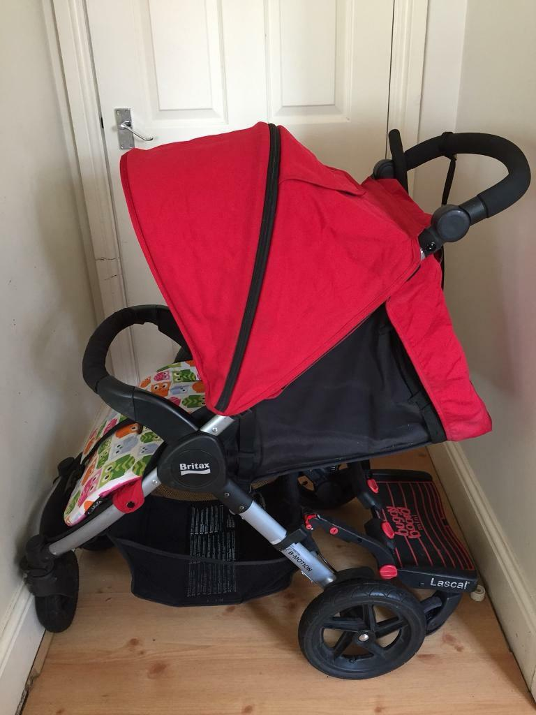 ***SOLD*** Britax B-motion pushchair with buggy board ...