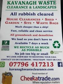 Rubbish clearance waste removal and demolition office strip out cheaper than a skip