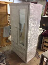 White luxury winter velvet wardrobe!!!