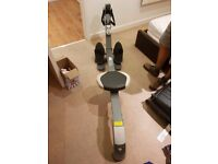 Pro Fitness Gym N Rower Rowing Machine. Selling because I'm moving