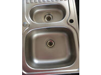 Leisure Sink 1.5 bowl Stainless steel