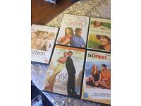 Chick Flick DVDs x5