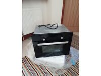 New Cooke Lewis CLCPBL Black Electric Built in Compact oven