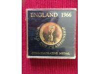 1066 England World Cup medal