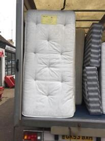 Single spring mattress only £45ono