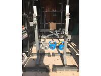 Squat rack stands (pair) Bodymax