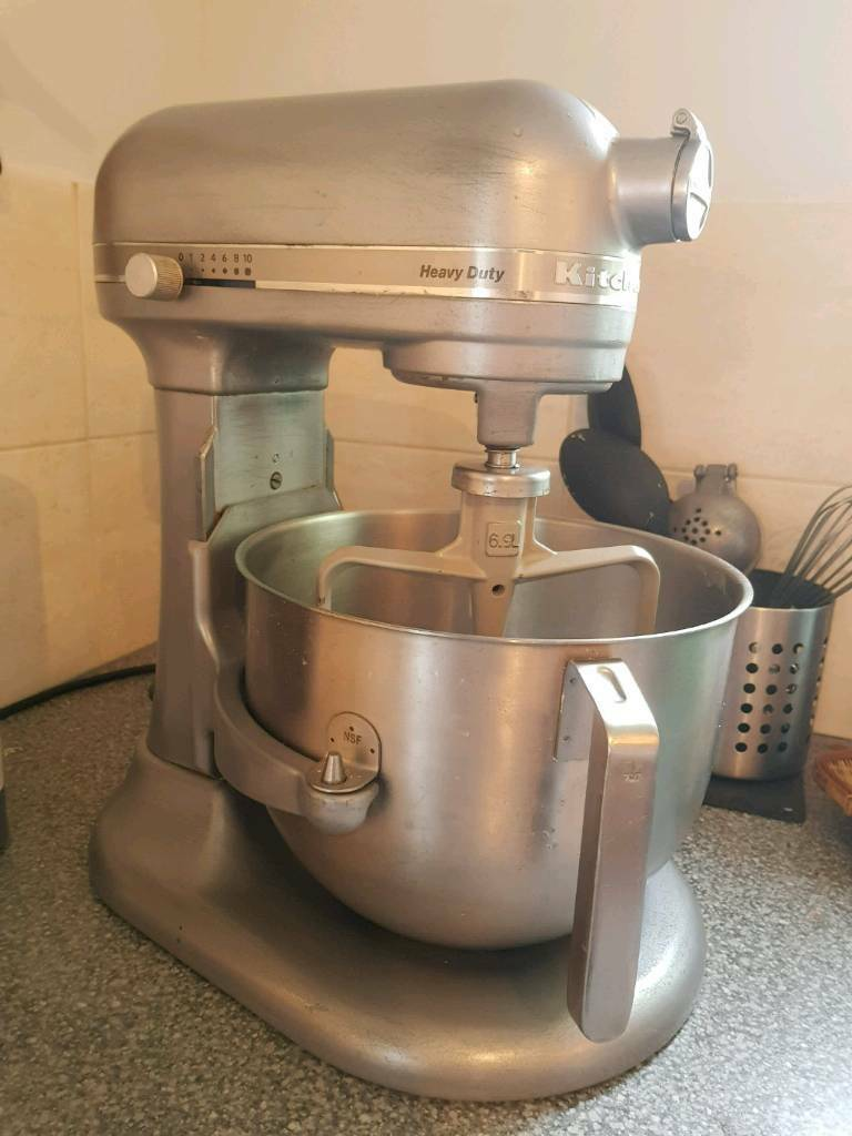 KITCHEN AID HEAVY DUTY silver brilliant condition | in Bath ...
