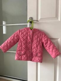 Next Girl's Coat age 12-18 month