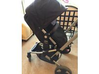 Mothercare Pram/Buggy/Stroller- rear/parent and front/world facing option