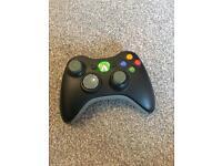 Xbox 360 wireless controller black game pad