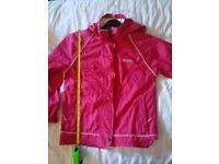 "Pink Regatta jacket 34"" chest(concealed hood)"
