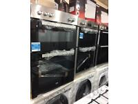 NEW-NEW***Double ovens on sale ELECTRIC warranty included PRP£469 sold here for £149.99 NEVER Used