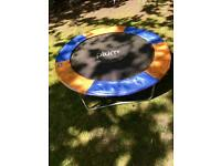 4ft plum trampoline as pictured