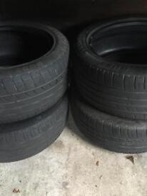 Audi A6 tyres