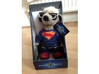 Superman meerkat toy