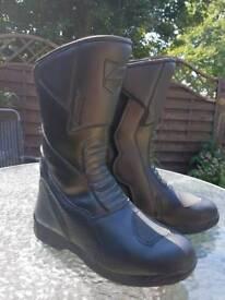 Akito Monza Motorcycle boots size 6