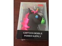 Power bank emoji unicorn design