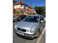Volkswagen Polo 1.9 TDi sport 2002, new MOT 3 July 2018,FSH