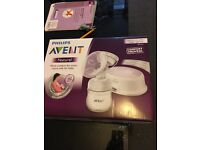 Used avent breast pump for sale, very good condition , only used one time