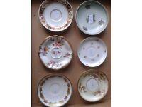 antique british SIX plates
