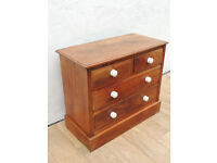 Wooden pine chest of drawers Antique (Delivery)