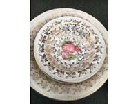 Beautiful Vintage Plates and Cups