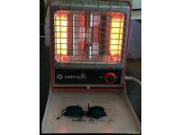 Vintage Helitron Sun-Glo Combined Ir/Uv Tanning Heat Lamp