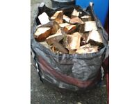 One Ton Builders Bag Of Tree Fire Logs.