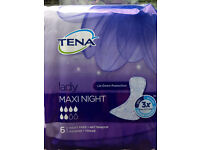 Tena / Always Maxi Night Sanitary Pads