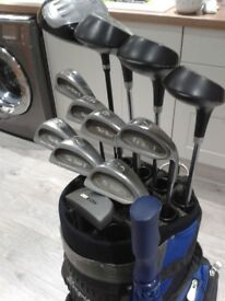 *** FULL SET OF GOLF CLUBS + NEW GOLF BAG + LOADS OF EXTRAS ***