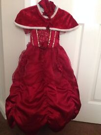 GIRLS DRESSING CLOTHES - DISNEY BELLE OUTFIT