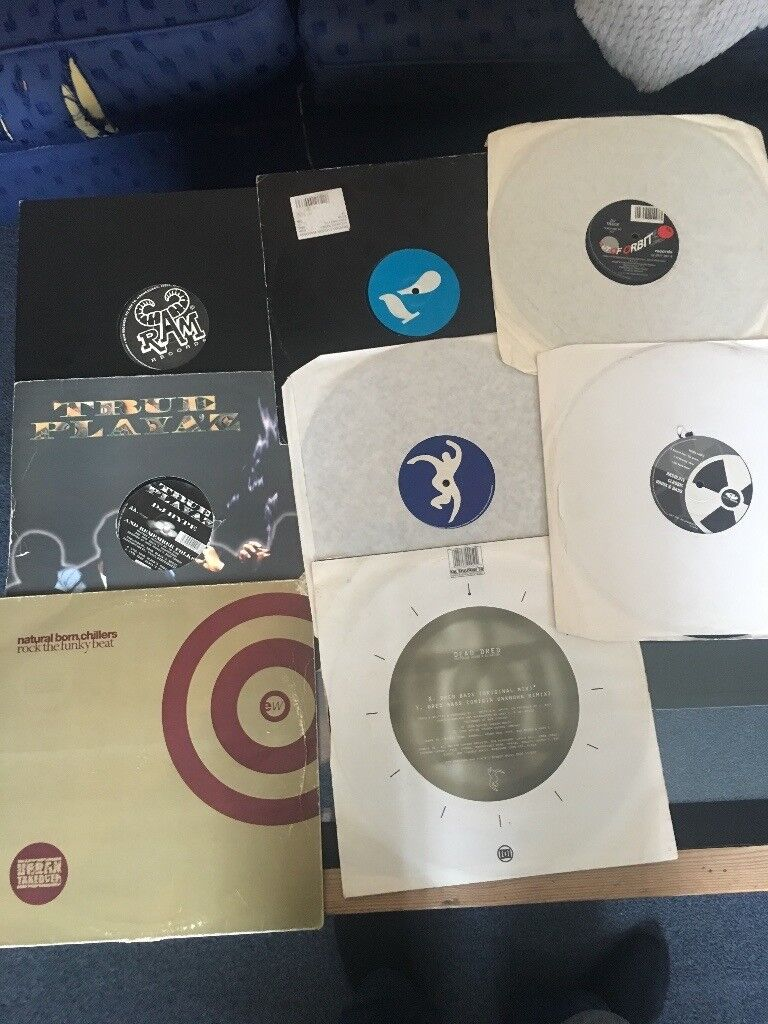 Jungle and Drum and Bass Records and Vinyl Classics