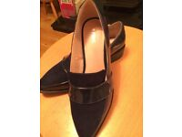 ladies Navy Shoes