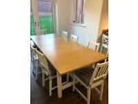 Extra large IKEA dining table - offers considered