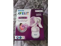 *New Avent Breast Pump