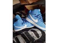 Nike air force 1 high retro qs. Uk size 10