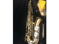 Yamaha Gold Alto Saxophone for Sale