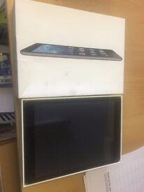 Apple iPad air 16gb wifi and 4gb boxed