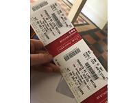 U2 tickets Saturday 8th July x 2